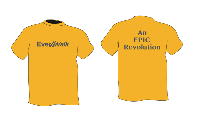 Short Sleeve Yellow Tee