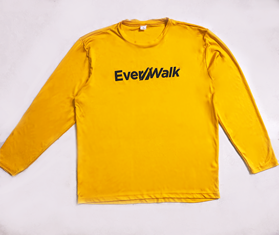 Everwalk Nation Yellow Long Sleeve T-Shirt