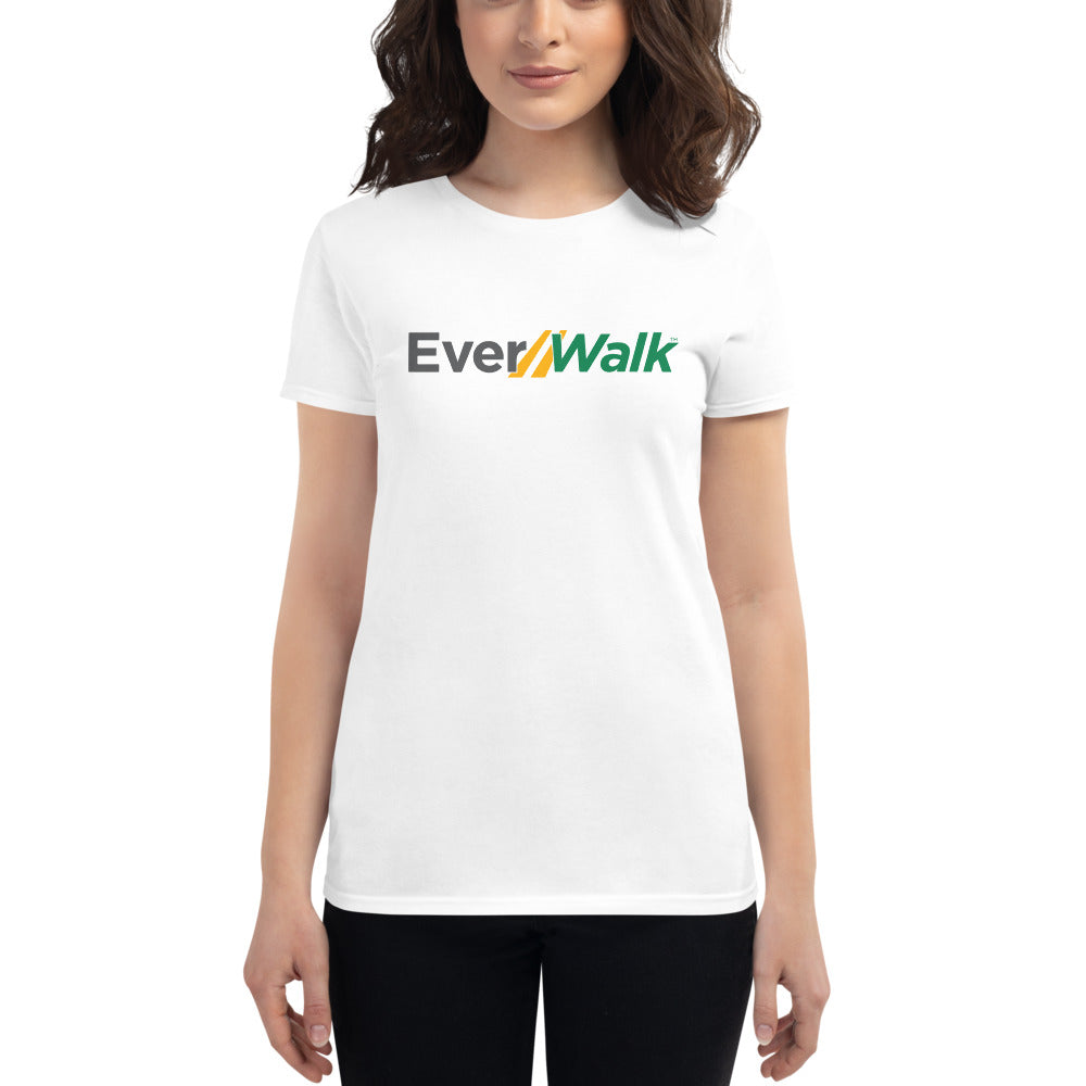 EverWalk White Women's Cut T-Shirt