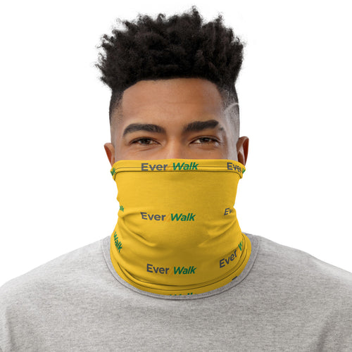EverWalk Yellow Neck Gaiter with Black Logo