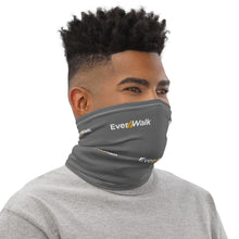 Everwalk Gray Neck Gaiter with White EverWalk Logo