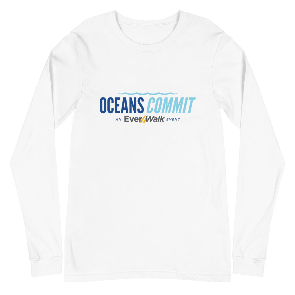 Unisex OceansCommit Long Sleeve Tee