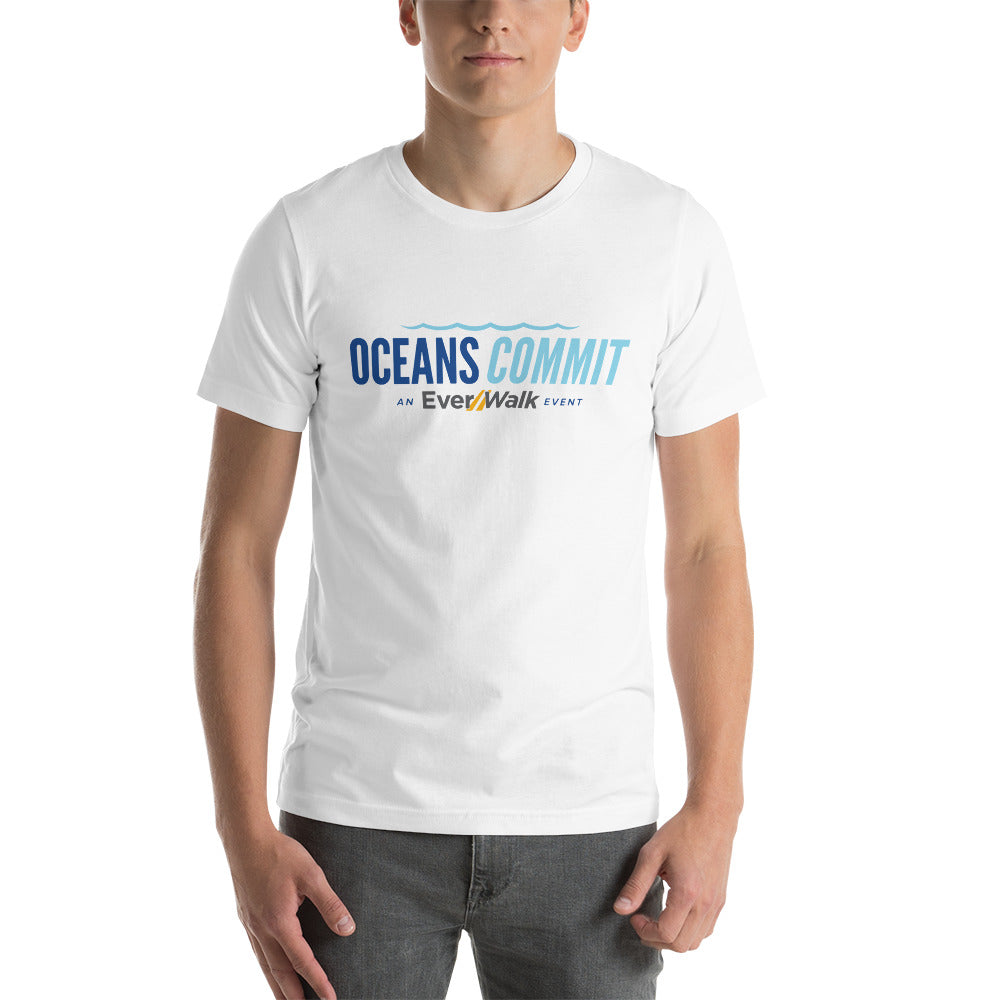 Short-Sleeve Unisex OceansCommit T-Shirt