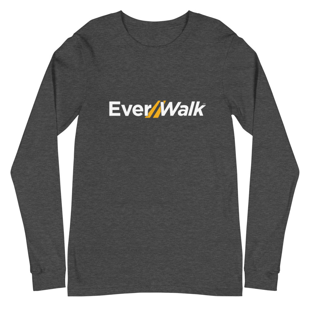 Unisex Grey EverWalk Long Sleeve Tee