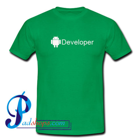 Android Developer T Shirt