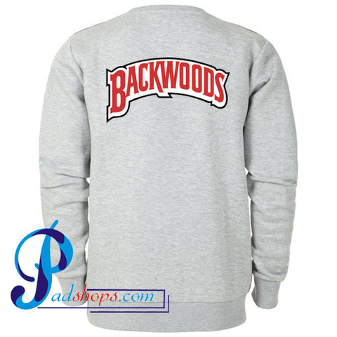 Backwoods Logo Sweatshirt Back