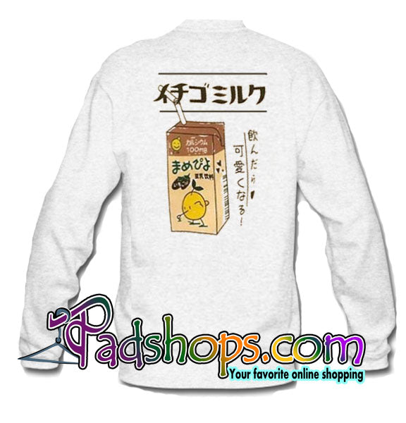 009bcb36 Ichigo Milk Sweatshirt Back