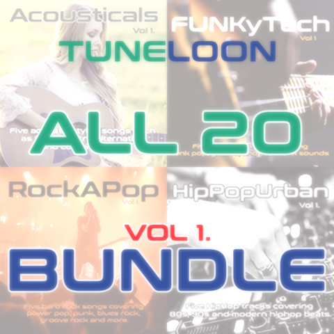 All 20 Bundle - Instrumentals (Acoustic, Funk, Rock, HipHop)