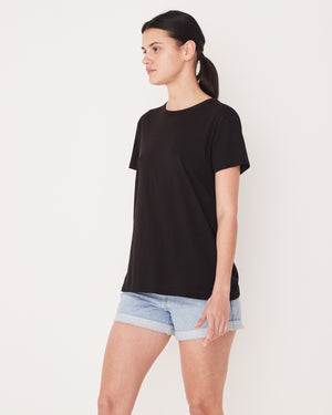 ESSENTIAL COTTON CREW TEE