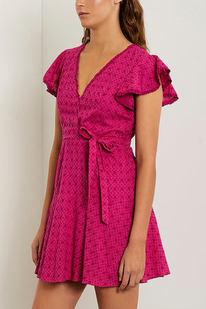 BARBA WRAP DRESS