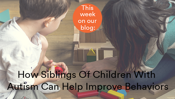 How Siblings Of Children With Autism Can Help Improve Behaviors