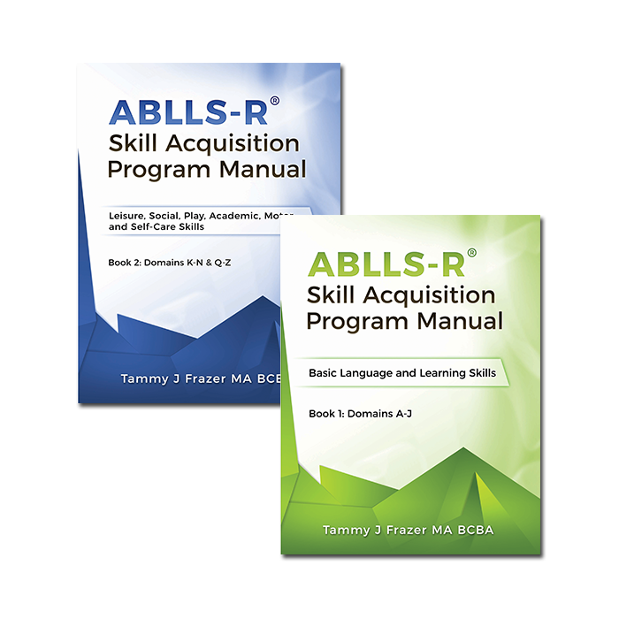 ABLLS-R® Skill Acquisition  Program Manual Set