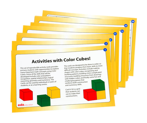 Cube Pattern Design Cards