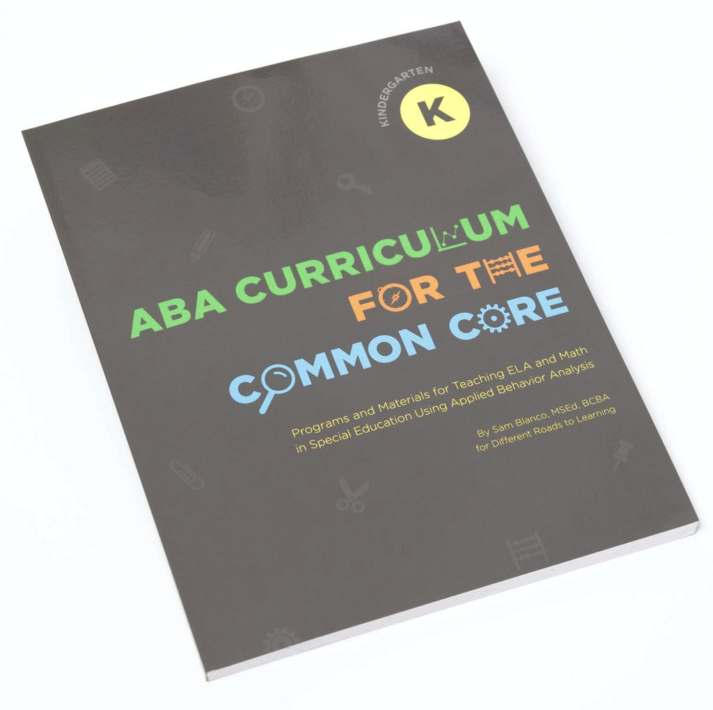 ABA Curriculum for Common Core: Kindergarten: Digital Download