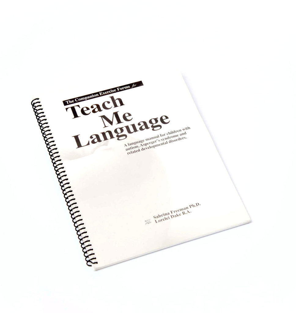 Teach Me Language Companion Forms