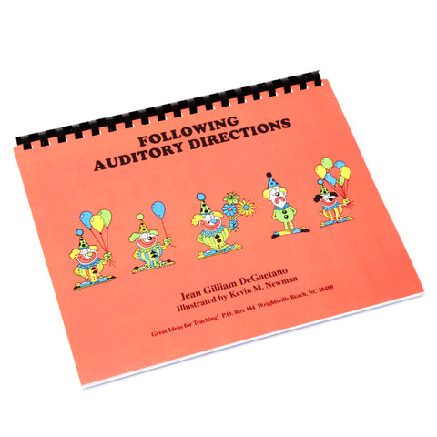 Following Auditory Directions