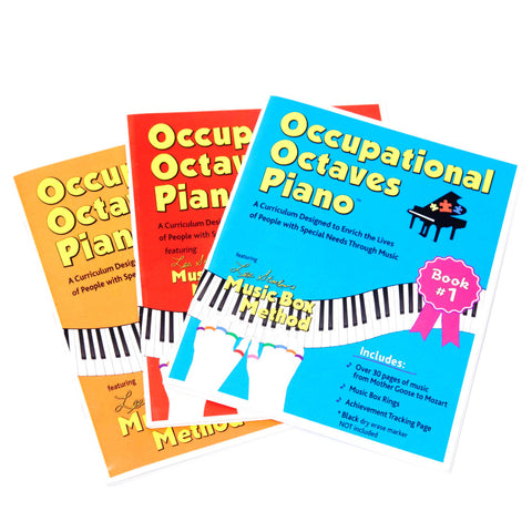 Occupational Octaves Piano Books - 3 Pack