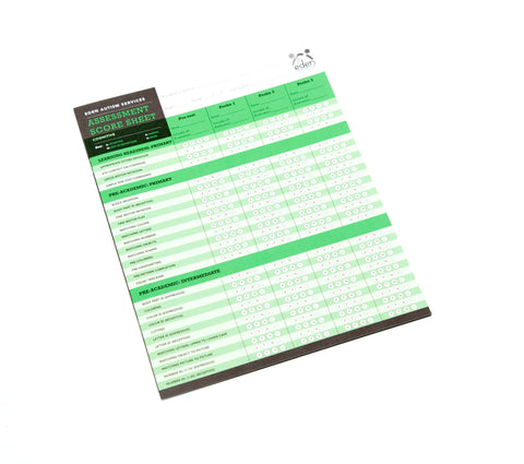 Cognitive Assessment Score Sheets: 10-pack