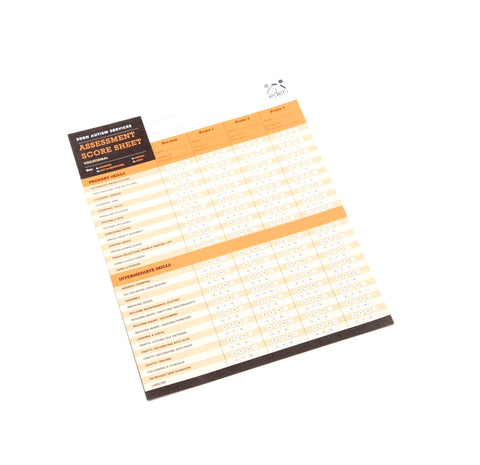 Vocational Assessment Score Sheets: 10-pack