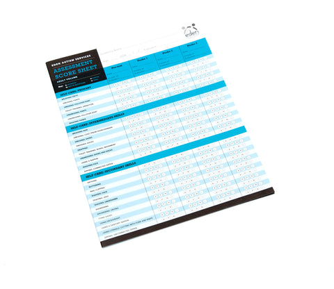 Adult Services Assessment Score Sheets: 10-pack
