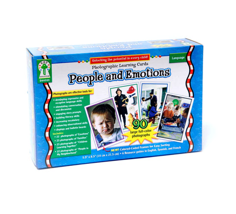 People & Emotions Photographic Learning Cards