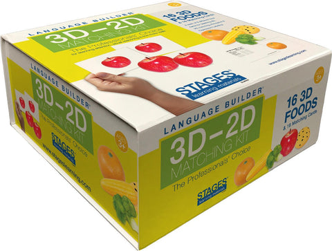 Language Builder 3D-2D Food Matching Kit
