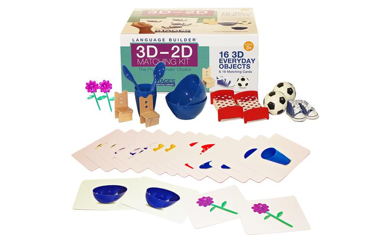Language Builder 3D - 2D Everyday Object Matching Kit