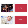 Verbs Flash Cards: 40 Action Photo Language Cards