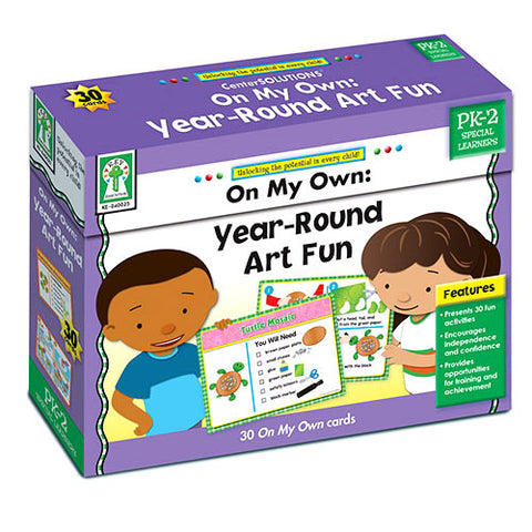 On My Own: Year-Round Art Fun