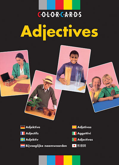 Adjectives ColorCards