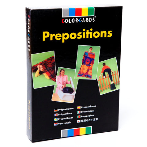 Prepositions ColorCards