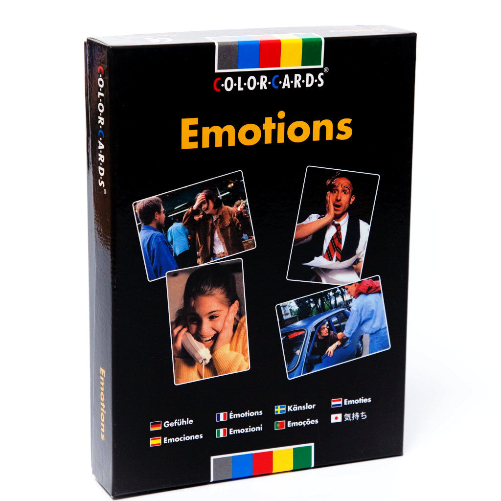 emotions colorcards different roads