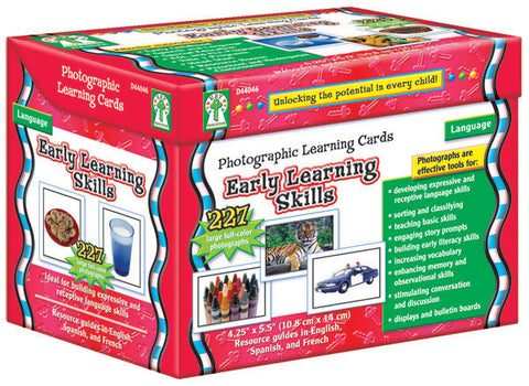 Early Learning Skills Photographic Learning Cards