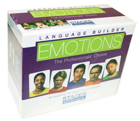 Language Builder Photo Emotion Cards