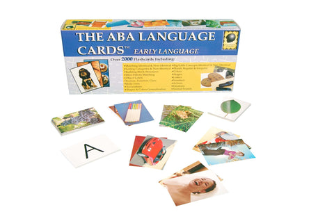 The ABA Language Cards - Early Language