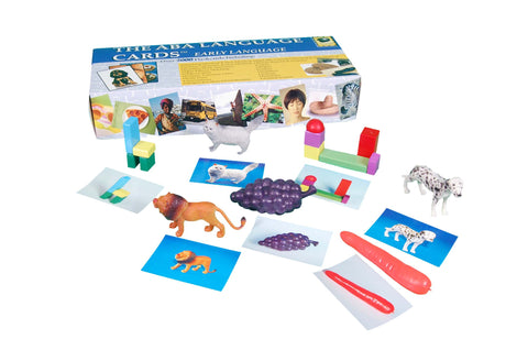 The ABA Language Cards - Early Language Manipulatives