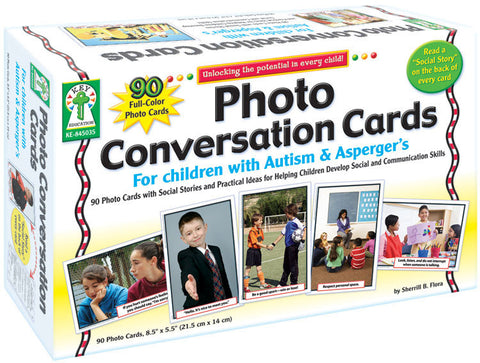 Photo Conversation Cards for Children with Autism