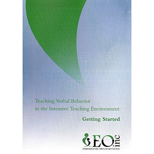 Teaching Verbal Behavior: Getting Started DVD