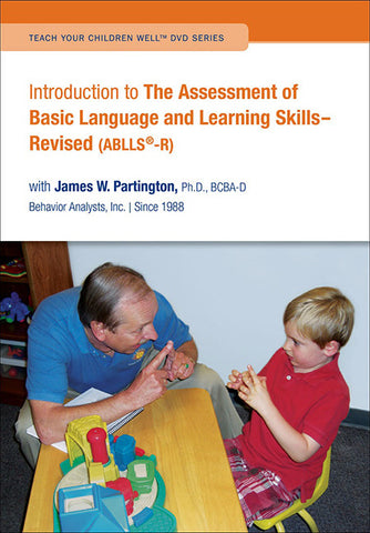 DVD: Introduction to The Assessment of Basic Language and Learning Skills- Revised