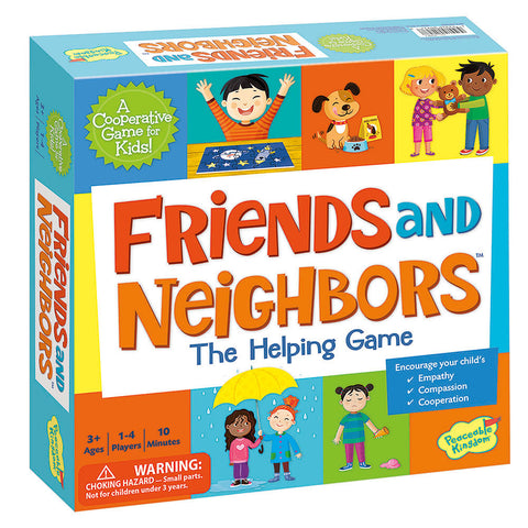 Friends and Neighbors: The Helping Games