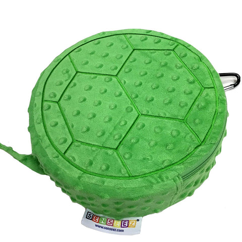 SENSEEZ Bumpy Turtle Vibrating Pillow