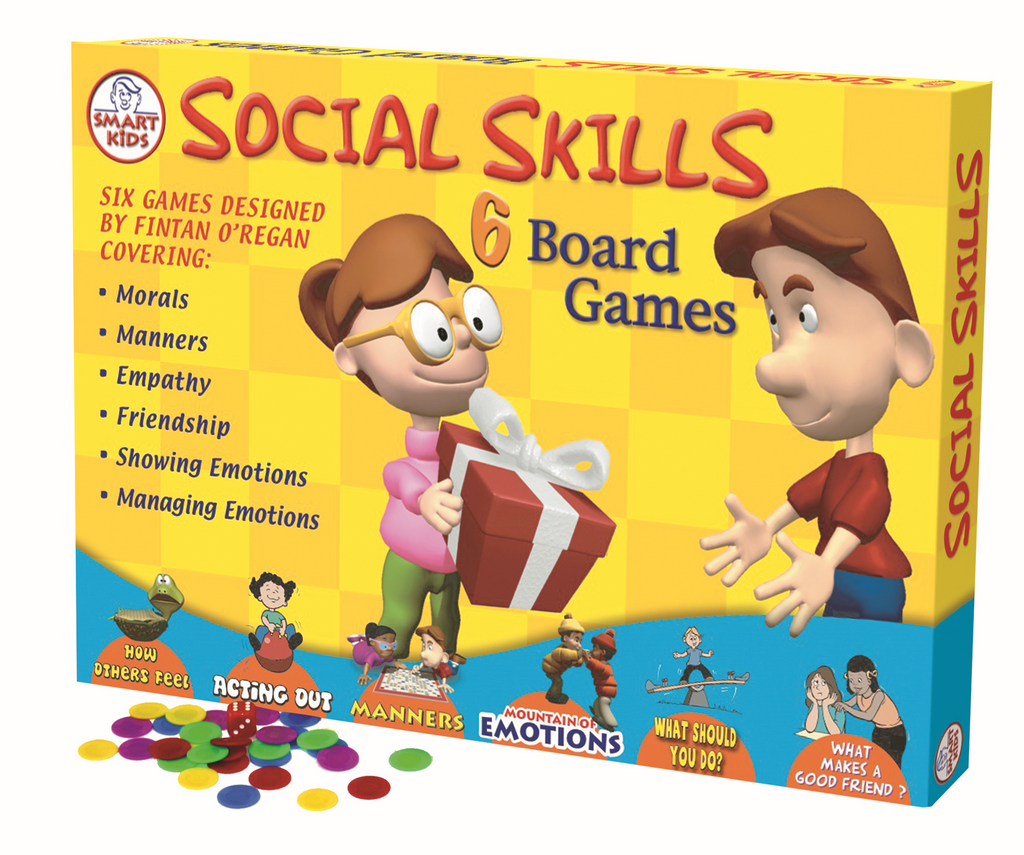Social Skills: Set of 6 Board Games