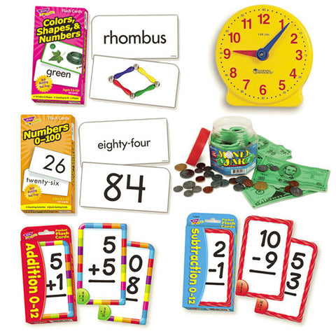 Math, Time and Money Kit
