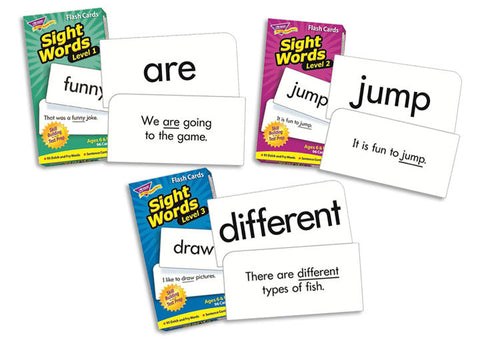 Sight Words Flashcard Bundle