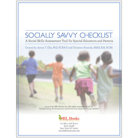 Socially Savvy Online Checklist