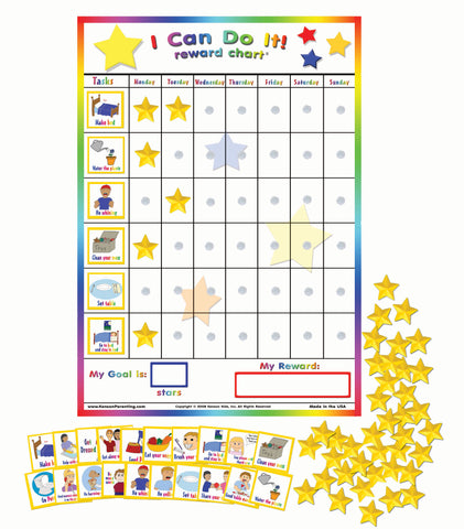 I Can Do It! Reward Chart