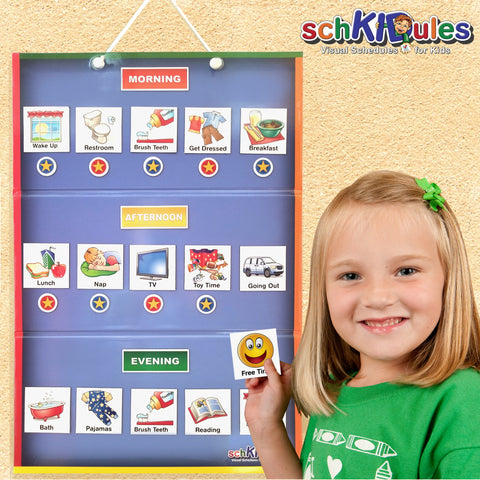 SchKIDules Visual Schedules for Kids - SchKIDules Home Bundle