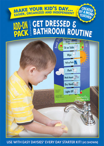 Get Dressed & Bathroom Routines Add-on Kit