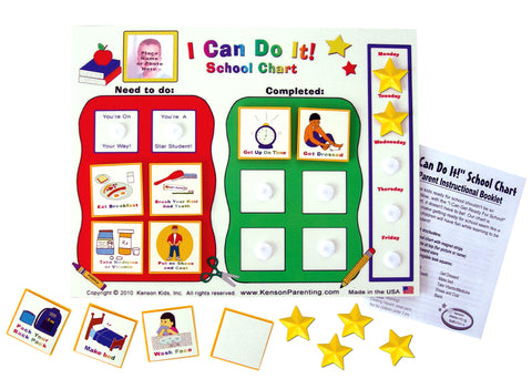 I Can Do It! School Chart
