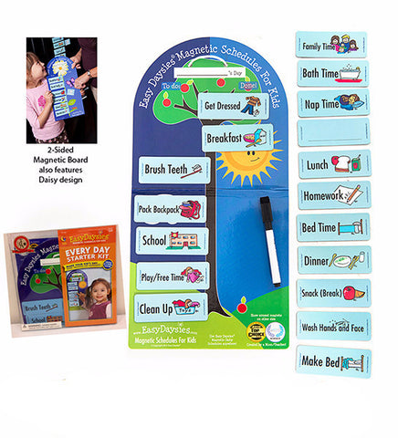 EasyDaysies Magnetic Schedule for Kids